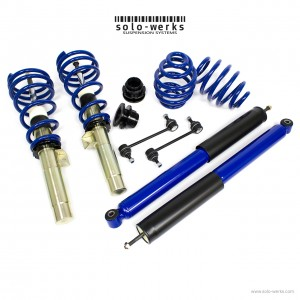 Solo Werks S1 Coilover System - BMW M3 (E46) 2001-2006 Coupe