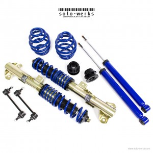 Solo Werks S1 Coilover System - BMW M3 (E36) 1995-1998 Coupe Sedan Convertible
