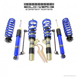 Solo Werks S1 Coilover System - BMW F Series (F22 F30 F32) without EDC